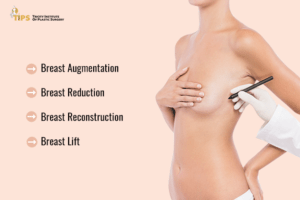 Breast surgery types | Breast augmentation | breast reduction | breast lift | breast reconstruction